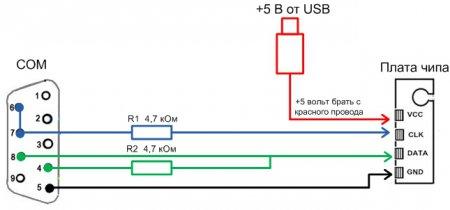 Схема программатора чипов картриджей фото 459